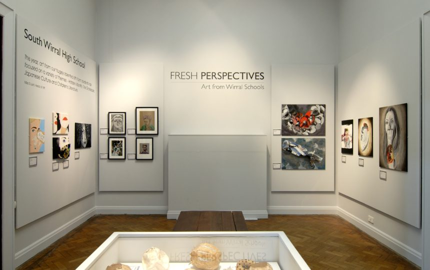 Fresh perspective gallery exhibition of student artwork